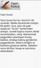 Yasin Türkçe