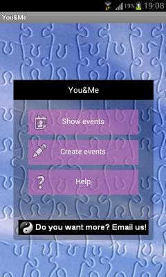 YouAndMe Anniversary Reminder