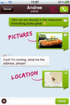 UppTalk for iPhone