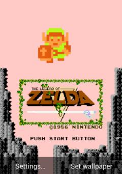 Zelda Classic Live Wallpaper